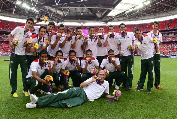 La Medalla de Oro conseguida por el Tri Sub-23 en los Juegos Olímpicos d...