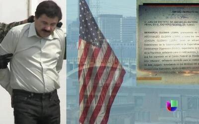 Joaquín El Chapo Guzmán detuvo eventual extradición a Estados Unidos
