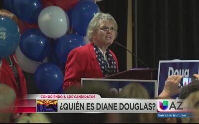 Conociendo a la Candidata Republicana Diane Douglas