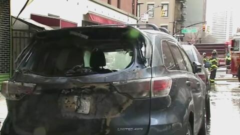 ¿Se imagina estacionar su auto en la calle y encontrarlo totalmente quem...