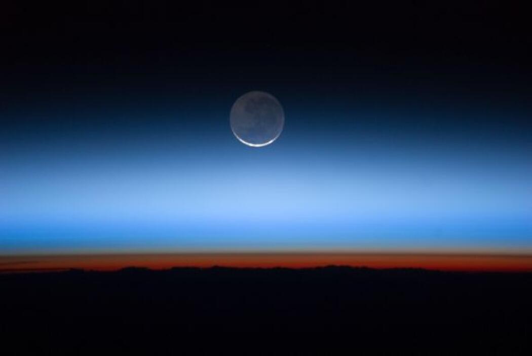 Astronautas de la Estación Espacial Internacional capturaron esta foto d...