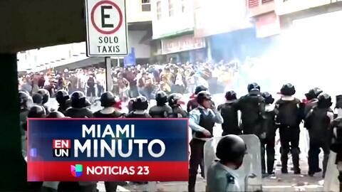 'Miami en un Minuto': venezolanos del Sur de la Florida sufren la violen...