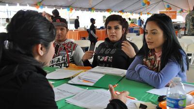 Suzette Granada (derecha) acompañó a sus amigos, los hermanos Miriam y G...