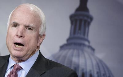 El senador por Arizona John McCain