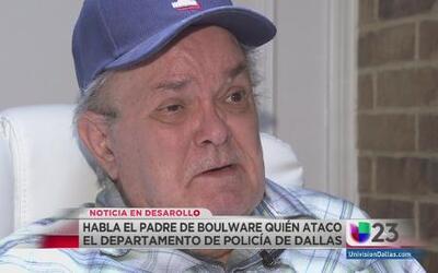 Padre de atacante en Dallas habló sobre hijo