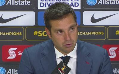 """Diego Alonso: """"Teníamos la intención de anotar al menos un gol"""""""