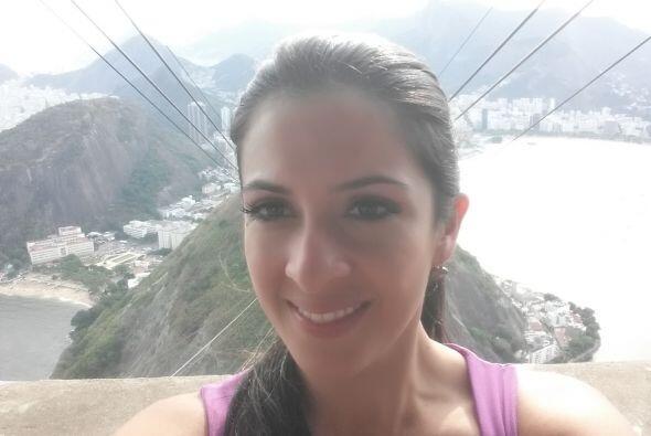Como una asignación especial, Maity está en Río de Janeiro para mostrart...