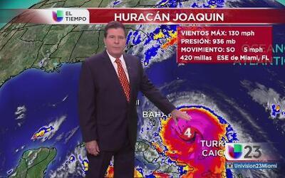 Incierta la trayectoria de Joaquín hacia la costa de EEUU