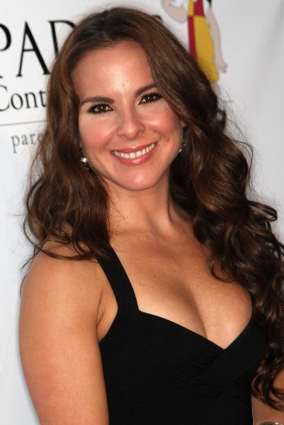 Kate del Castillo: La actriz mexicana, poseedora de una envidiable figur...