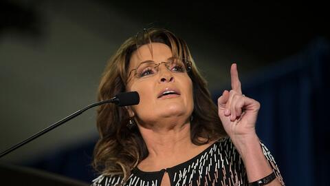 Palin dice que Trump podría perder muchos seguidores por su apare...