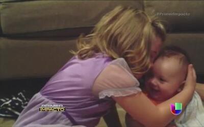 Llanto de una niña que no quiere que su hermanito crezca inundó las redes