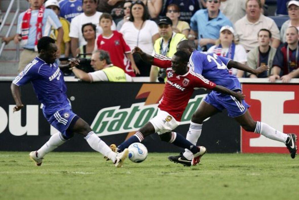 En el 2006 el Chelsea fue doblegado por el conjunto de estrellas de la M...