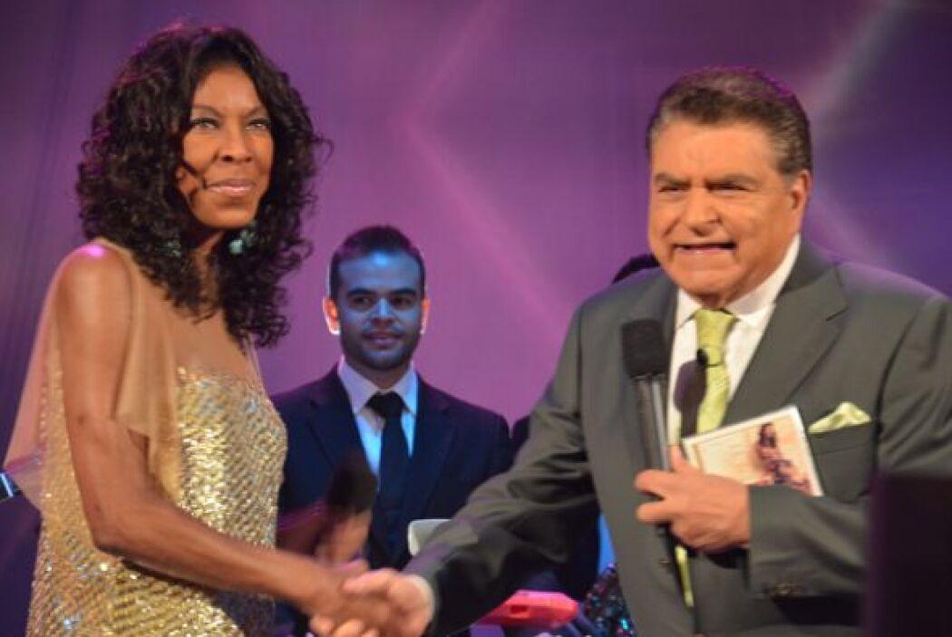 Don Francisco le agradeció haber compartido tanto talento con el show.