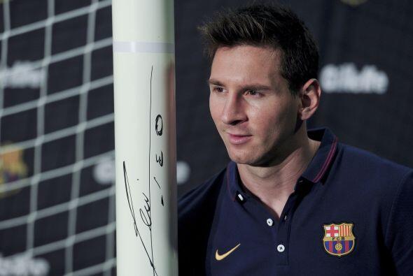 Lionel se ha convertido en un ícono del barcelonismo, probablemente el m...