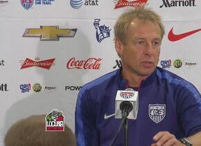 Jürgen Klinsmann quiere que sus jugadores respondan de buena manera ante...