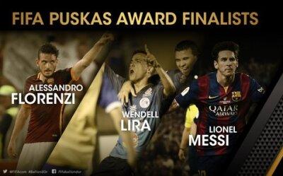 Finalistas del Premio Puskas