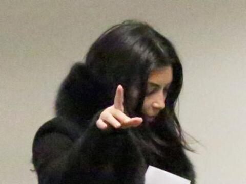 Kim se había ido de vacaciones a Utah con su amorcito Kanye.