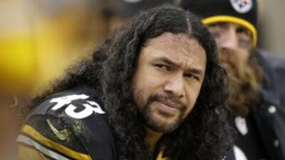 Troy Polamalu es uno de los mejores Steelers de todos los tiempos (AP-NFL).