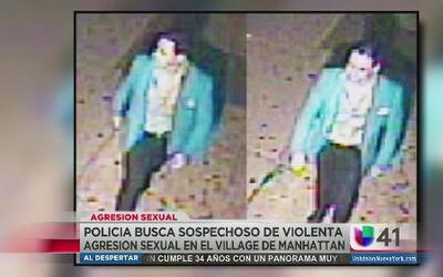 Buscan a este hombre por agresión sexual