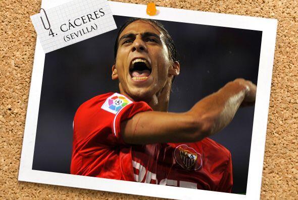 Desde Uruguay a la Liga española aparece Martín Cáceres.