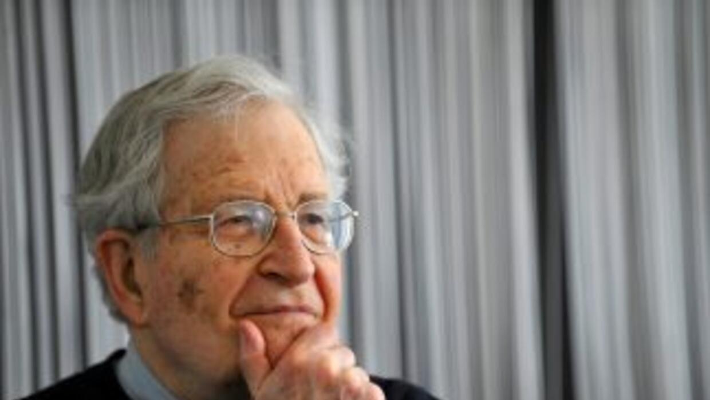 Noam Chomsky, uno de los principales intelectuales estadounidenses ofrec...