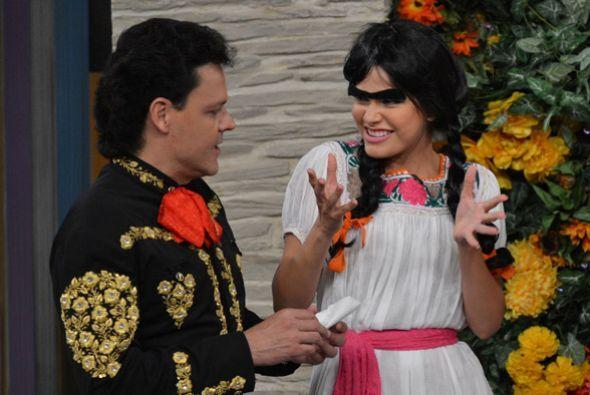 Durante su visita a Despierta América, Pedro Fernández conoció a la hija...