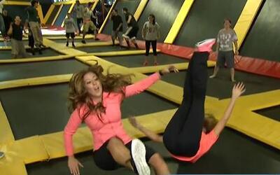 La Chiquibaby y Amelia saltaron como chapulines en Despierta América