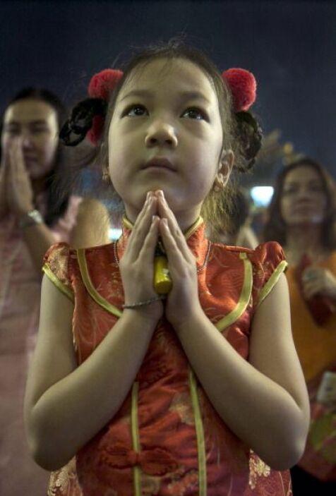 """Durante este día los chinos no dicen """"feliz año nuevo"""", sino  """"gong xi f..."""