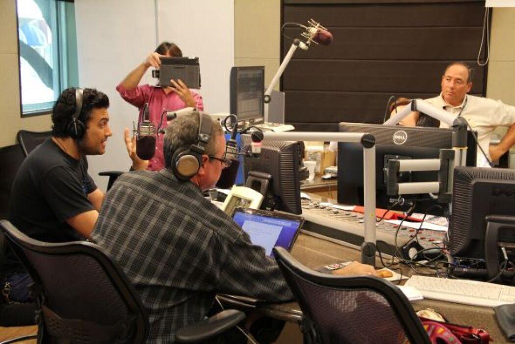 El actor Jaime Camil nos visitó y compartió los detalles de su nueva pel...