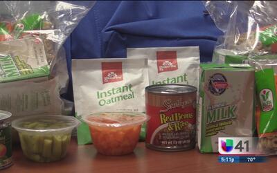 Incentivan programa para que niños de bajos recursos vayan mejor aliment...