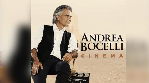 Andrea Bocelli disco 'Cinema'.