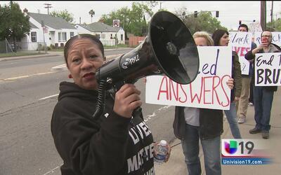 Activistas de Black Lives Matter piden justicia tras incidente de abuso...