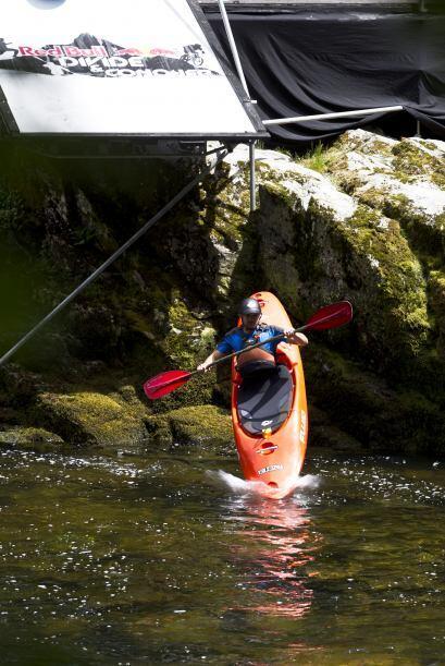 El Río Cubatão do Sul en Brasil, es uno de los lugares extremos preferid...