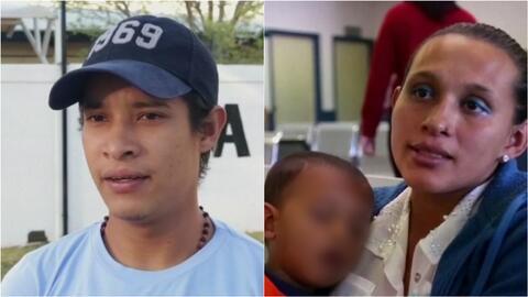 Familia hondureña que quería llegar a EEUU desisten de su idea por miedo...