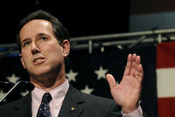 El ex senador Rick Santorum, de 52 años, integra también el lote de inte...