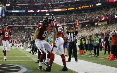 Los Falcons aplastan a los Seahawks en la Ronda Divisional