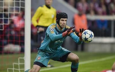 Petr Cech, portero del Arsenal FC, el rival de las Estrellas de la MLS.