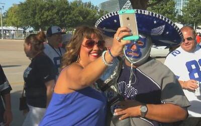 Fiesta de fans de los cowboys