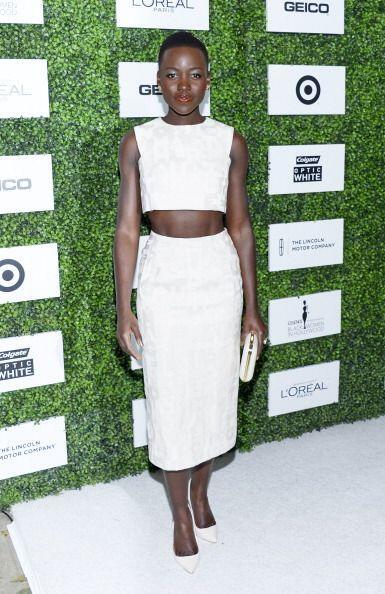La mujer más bella del mundo, Lupita Nyong'o,  sabe de estilo y por ello...
