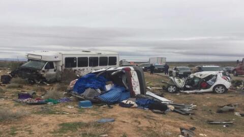 Una persona muerta y 26 heridas tras accidente de un autobús turístico