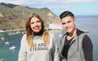 Fernanda Kelly se lanzó con Cheyo Carrillo a conocer Avalon, en la Isla...