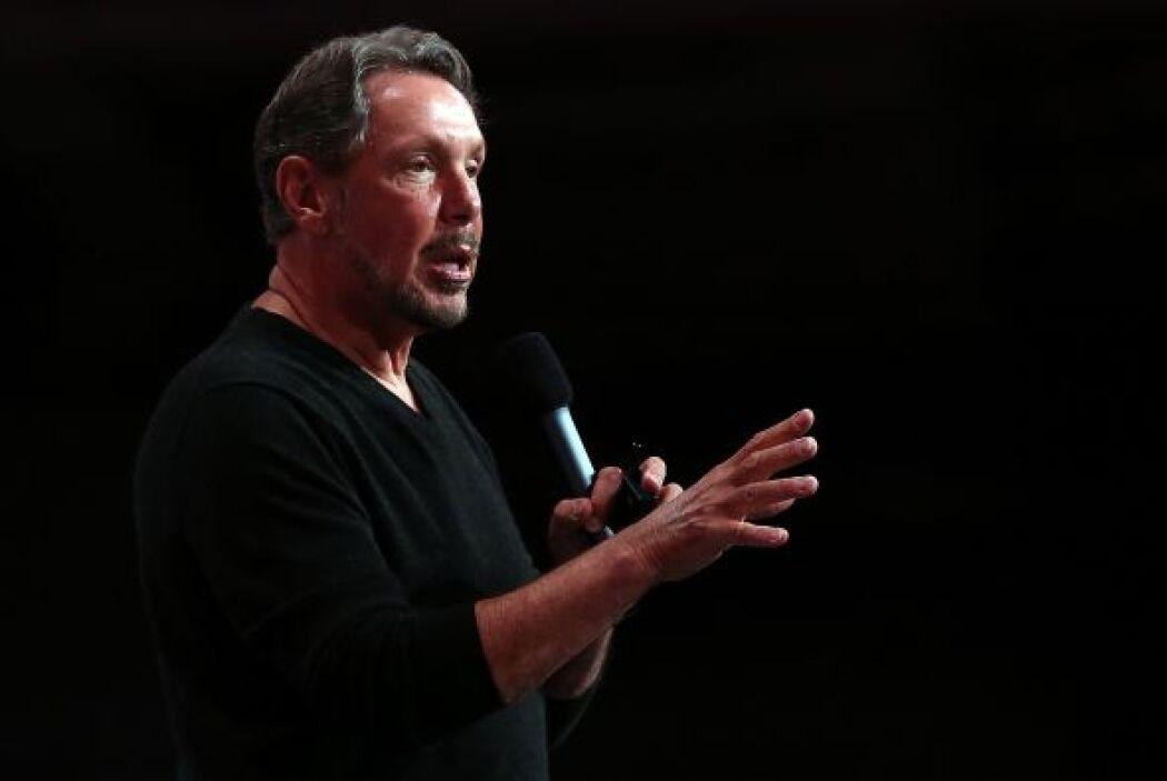 5.- El presidente ejecutivo de la compañía tecnológica Oracle Corp.  Law...