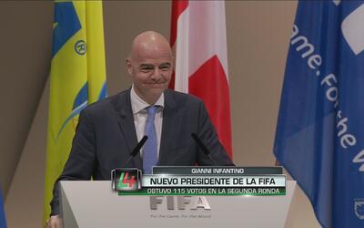"""Gianni Infantino: """"Voy a restaurar la imagen y el respeto a la FIFA"""""""