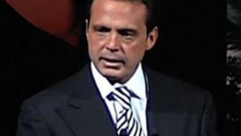 Luis Miguel al fin dio la cara