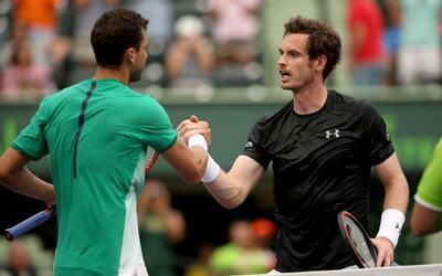 El búlgaro Grigor Dimitrov ganó  al escocés Andy Murray