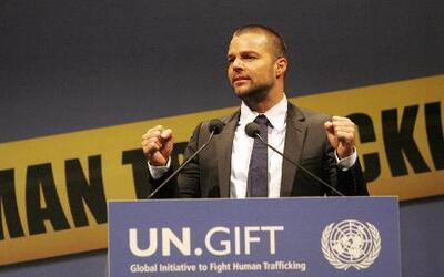 Famosos y Generosos: Ricky Martin, comprometido por los niños