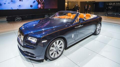 Rolls Royce Dawn, lujo y potencia sobre ruedas