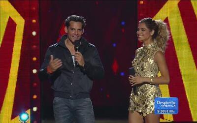 Ale Espinoza compartió una gran noticia en Premios Juventud 2014