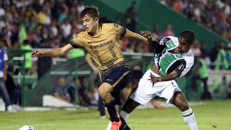 Pumas pierde. Foto Mexsport