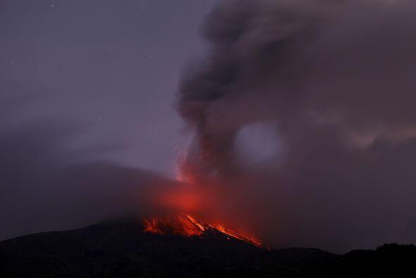 El pasado 6 de diciembre, el Tungurahua hizo erupción, lo que provocó da...